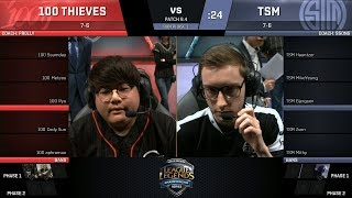 Video 100T vs TSM - 2017 NA LCS Spring Week 7 - 100 Thieves vs TSM download MP3, 3GP, MP4, WEBM, AVI, FLV Juni 2018