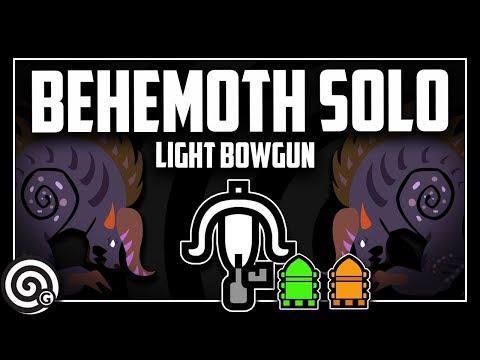 BEHEMOTH SOLO - Light Bowgun (Livestream) | Monster Hunter World thumbnail