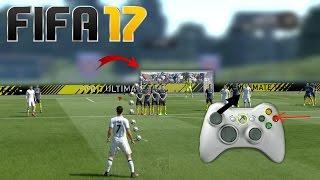 Comment marquer vos coups franc en EXTERIEUR du pied sur FIFA 17