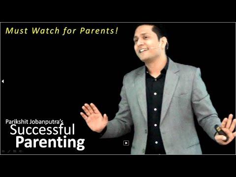 INDIA's Best Parenting Seminar to understand Child Psychology by Parikshit Jobanputra