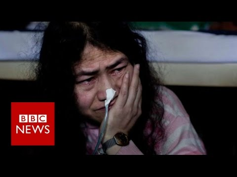 Irom Sharmila: World's longest hunger strike ends - BBC News