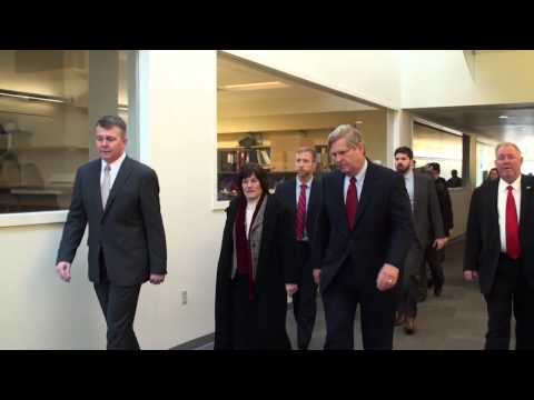 U.S. Secretary of Agriculture Tom Vilsack Visits Purdue