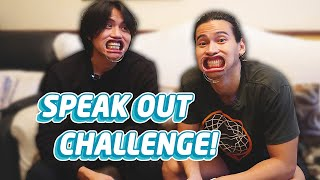 MOUTHGUARD CHALLENGE: SPEAK OUT GAME WITH MY BROTHER | Enchong Dee