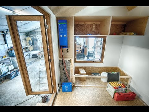 Victron Energy installation for a Tiny House