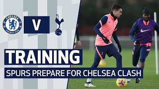 TRAINING | SHOOTING DRILLS AT HOTSPUR WAY AS SPURS PREPARE FOR CHELSEA