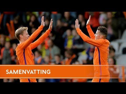 Голландия U-21 - Латвия U-21 3:0 видео