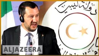 🇮🇹 🇱🇾 Italy's Salvini visits Libya for talks to stop migration | Al Jazeera English
