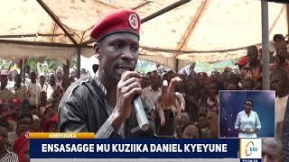 Enkalu mu kuziika Daniel Kyeyune, eng'uumi enyoose nga aba People Power beezooba n'aba NRM