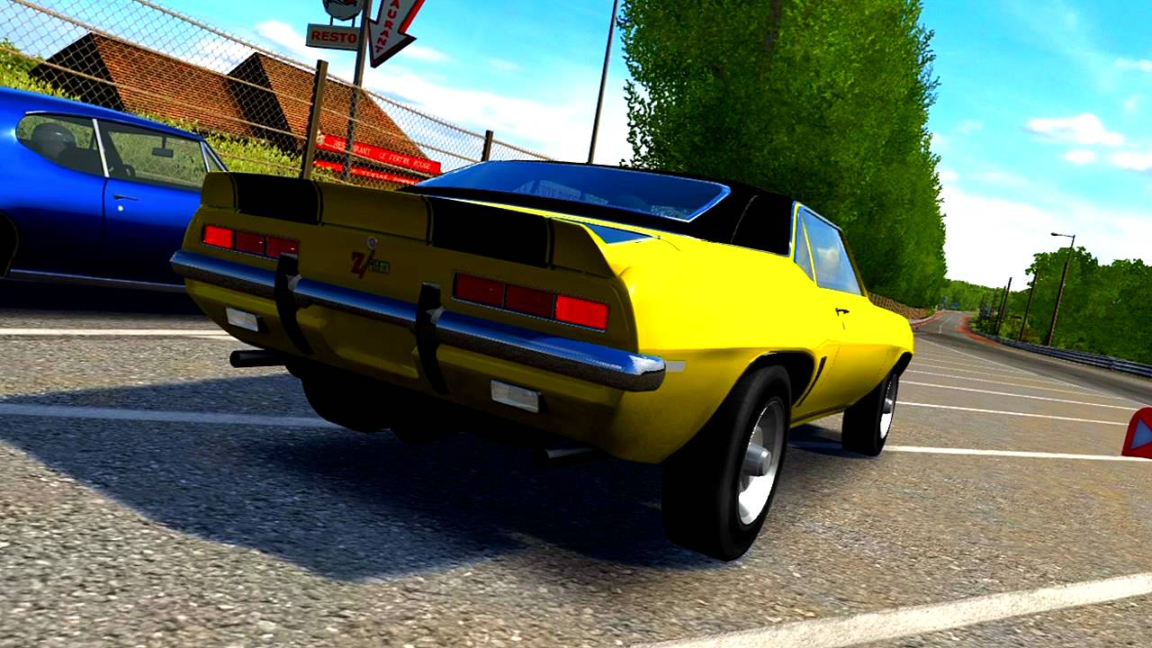 Classic Muscle Cars Drag Racing Pt I Forza Youtube