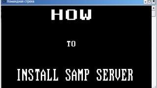 GTA SAMP: Как создать свой сервер 0.3e, объяснения голосом(http://sa-mp.com/download.php - линк на скачивание сервера http://vk.com/alexeybasinger - линк на мою группу., 2012-12-19T18:48:54.000Z)