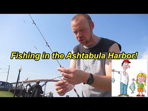 Vlog: Fishing In The Ashtabula Harbor!