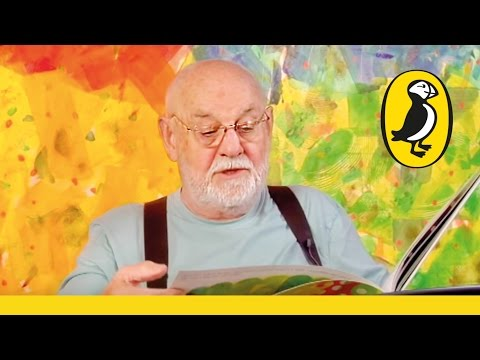 Eric Carle reads The Very Hungry Caterpillar
