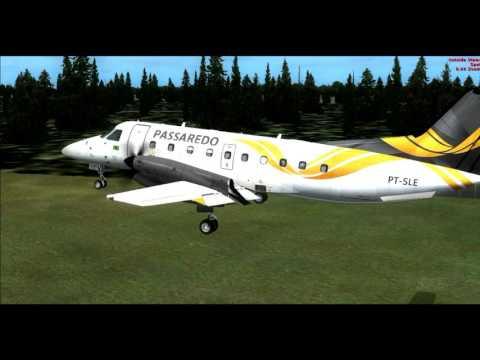 FSX EMB120 North Eleuthera To Nassau Full Flight
