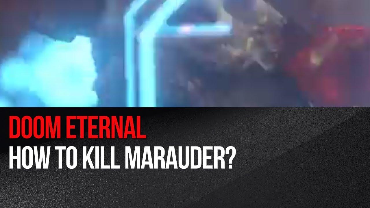 Doom Eternal Easy Method Of Killing A Marauder Red Shield Demon