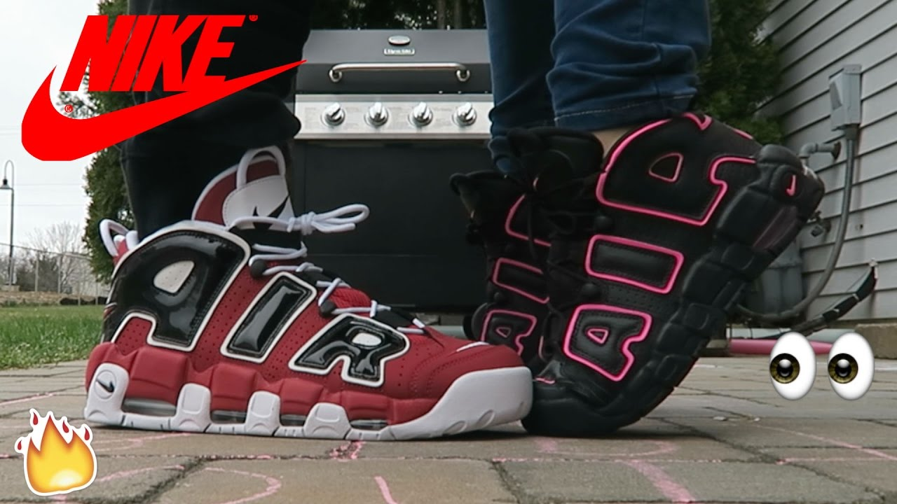 e8161865702 Nike AIR ☆ More UPTEMPO ☆ His   Hers ON FEET Sneaker REVIEW 🔥👟👟 🔥
