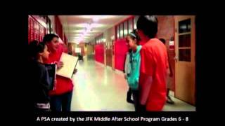 Sixth Grade Creates a PSA on Teen Dating Violence