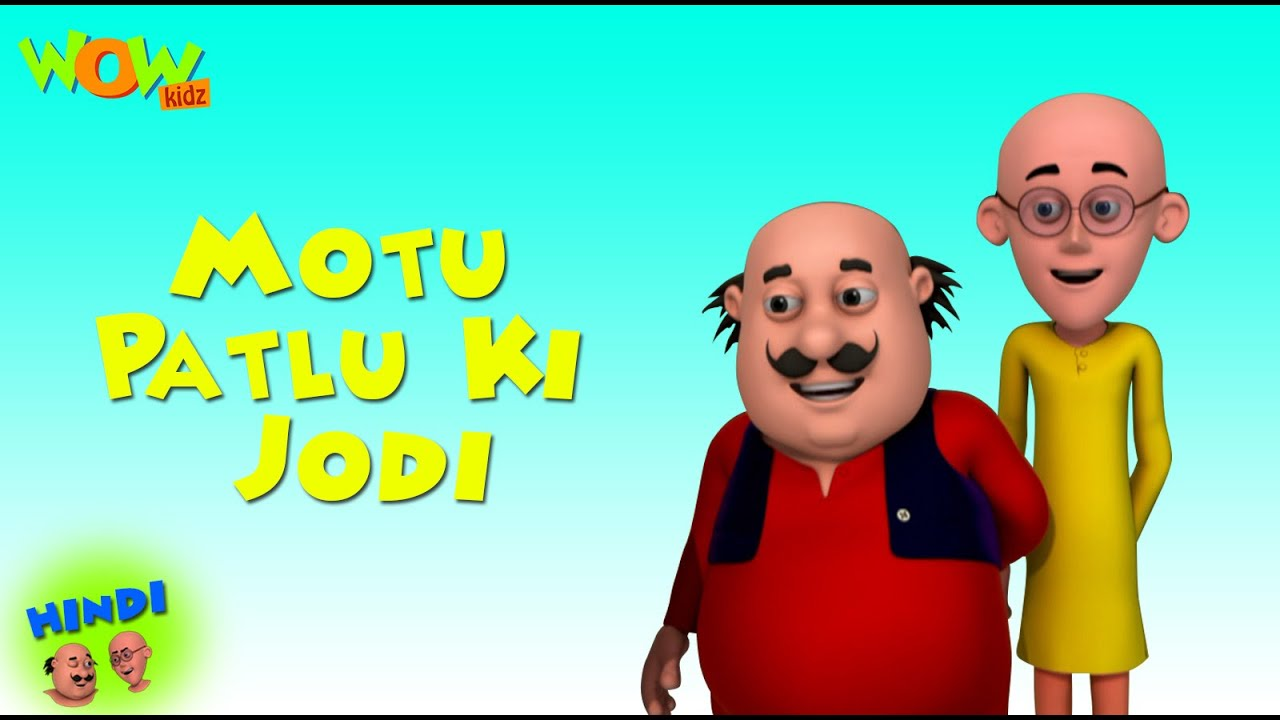 Motu Patlu Ki Jodi Motu Patlu In Hindi With English Spanish