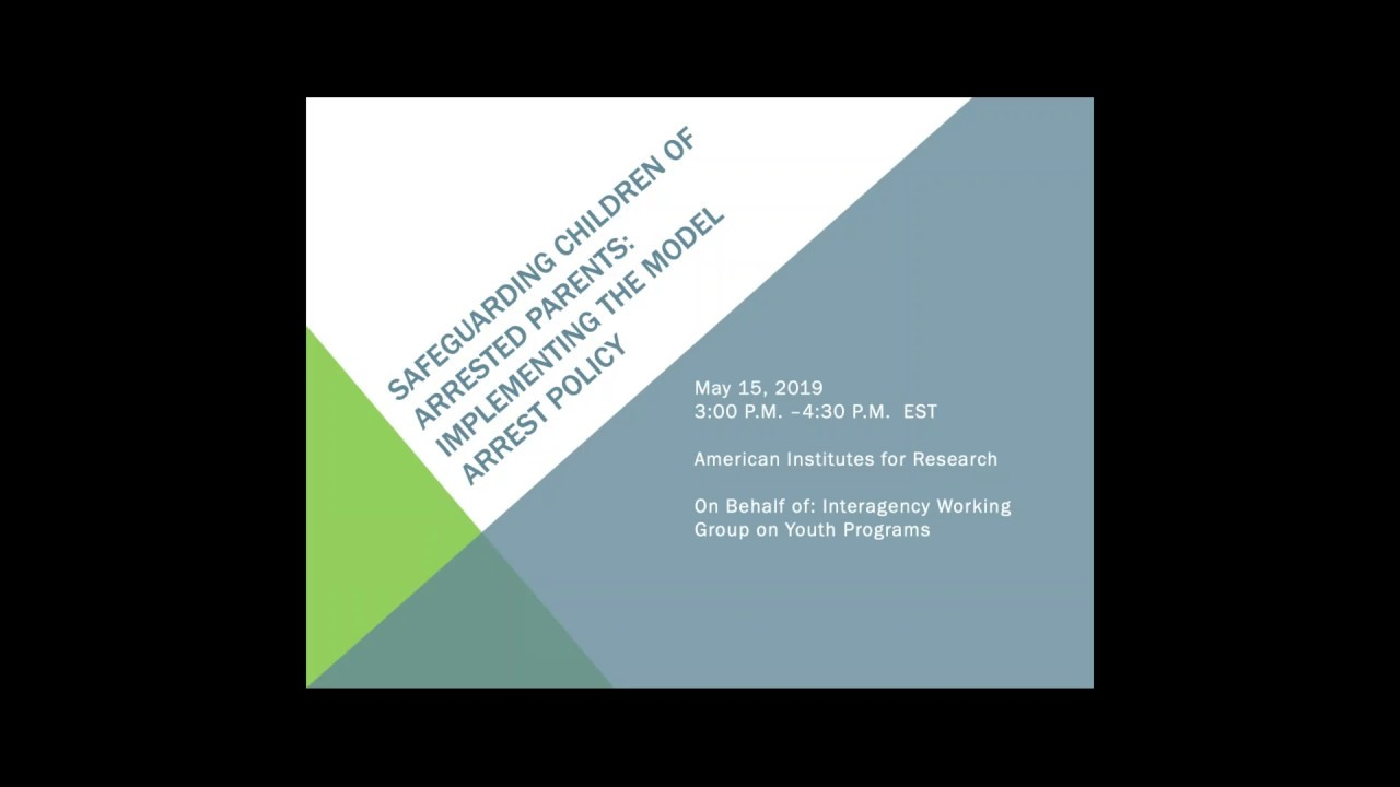 Prevention Program Safeguards Childrens >> Presentations Youth Gov
