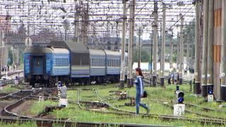Этапирование заключенных к поезду Трускавец - Днепропетровск на ст. Хмельницкий