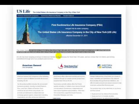 The United States Life Insurance Company in the City of New York (US Life)