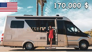 Exploram California cu o autorulota de 170.000 de $! Cum arata in interior | Mercedes Sprinter
