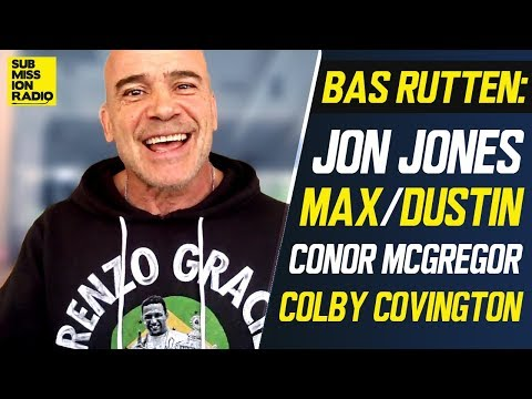Bas Rutten on Jon Jones at Heavyweight, Colby/Ali Altercation, Woodley's Loss, McGregor at His Gym
