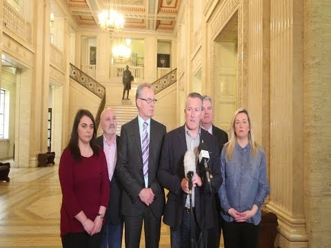 British government and DUP blocking Stormont talks progress