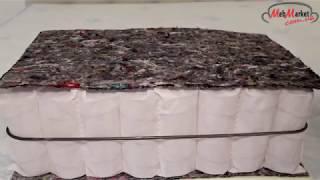 видео Матрас OPTIMA (Независимые пружины)