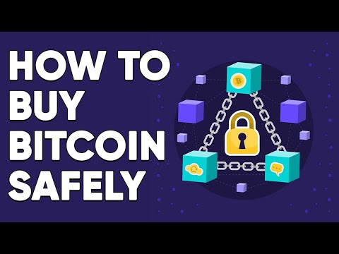 How To Buy Bitcoin SAFELY | Step By Step Guide