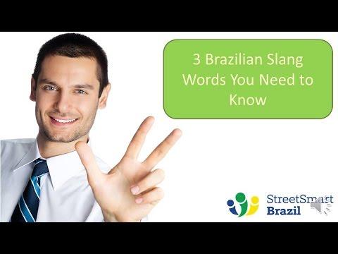 3 Brazilian Slang Words You Need to Know | Street Smart Brazil
