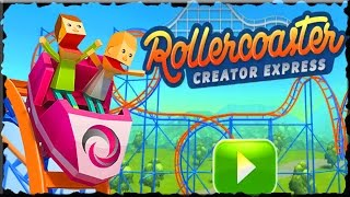 Rollercoaster Creator Express Full Game Walkthrough (10 Levels)