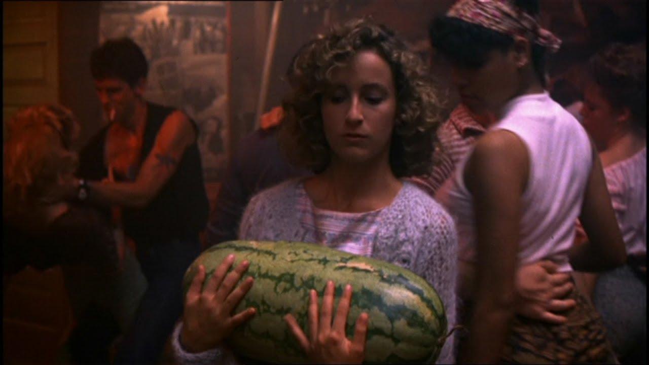 ich hab eine wassermelone getragen