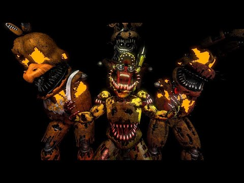 [FNAF SFM] [Preview3] This is Halloween Metal Cover