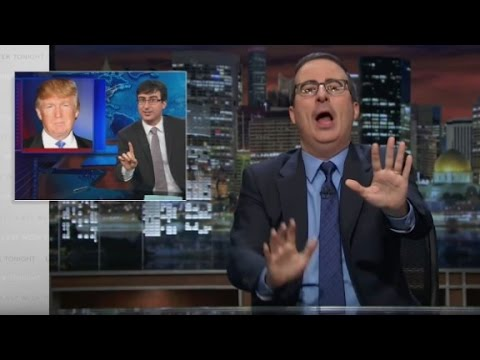 Watch John Oliver urge Trump to run for President