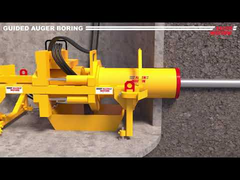 mts Perforator Microtunnelling Slurry System - Pipe Jacking www