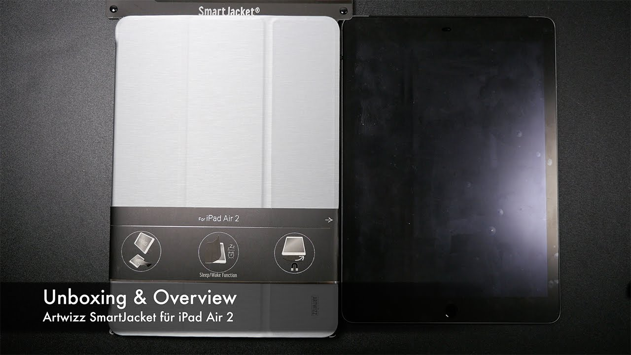 artwizz ipad air 2  Unboxing & Overview Artwizz SmartJacket für iPad Air 2 - YouTube