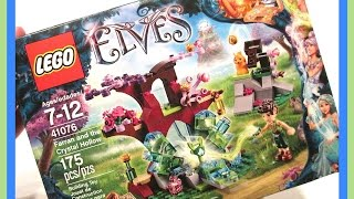 Lego Elves - Farran And The Crystal Hollow Playset - Opening And Building