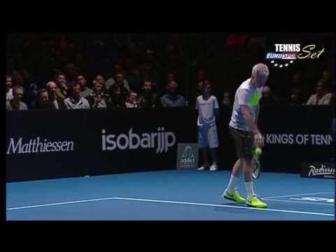 Stefan Edberg vs John McEnroe FULL MATCH Final HD Kings Of Tennis Stockholm 2013