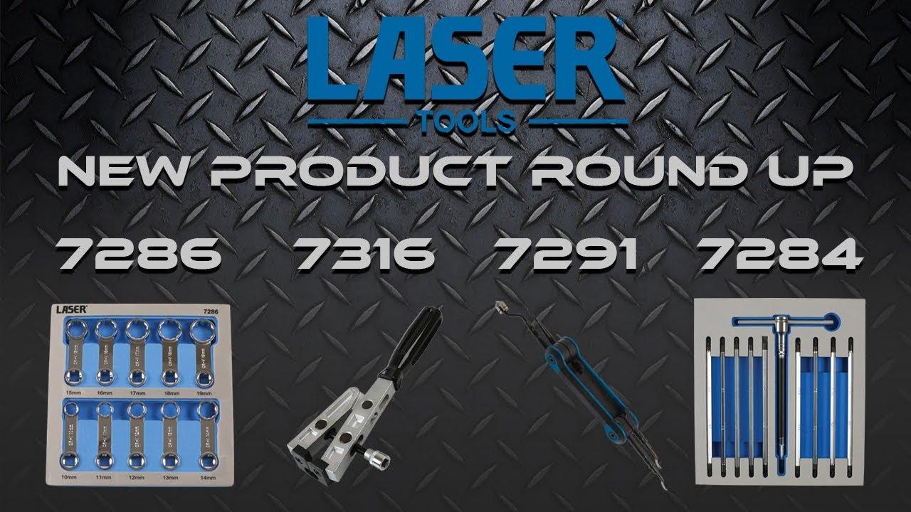 T Handle Double End Screwdriver Set 12Pc Laser 7284