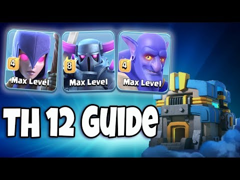 Max Pekka + Max Bowler + Max Witch TH12 Guide | Best Max Pekka Army Th12 War 3 Star Attack