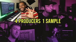 PRODUCERS FLIP THE SAME SAMPLE! *Which one is the best?* Ft @AnotherVGN , @ProdbyJack , @EdTalenti