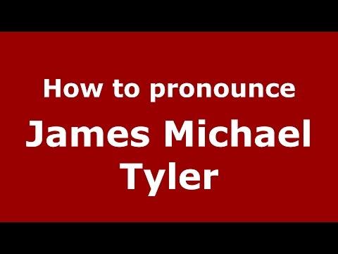 How to pronounce James Michael Tyler American EnglishUS   PronounceNames.com