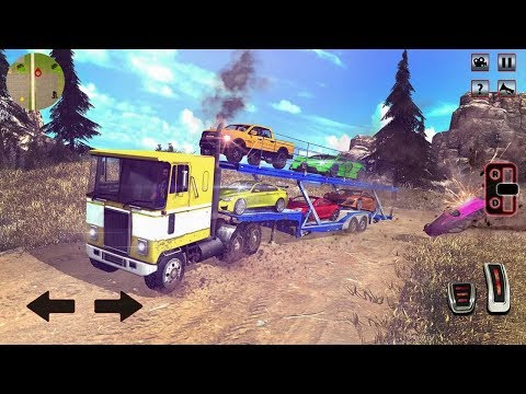 Car Transporter Truck 2018 Offroad USA Truck (by Zygon Games) Android Gameplay [HD]