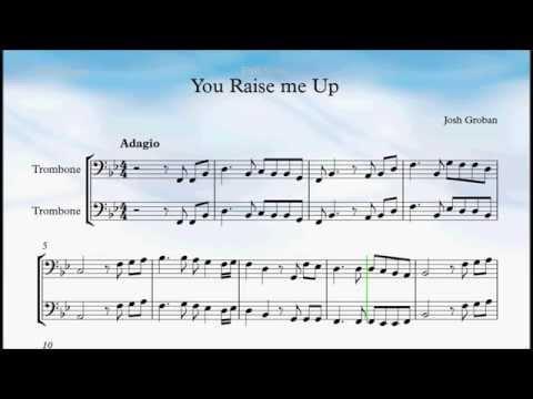 You Raise Me Up Trombon
