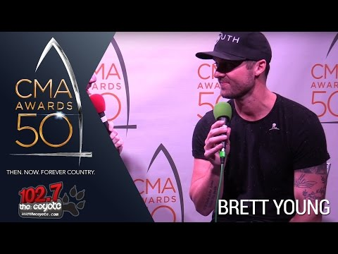 CMA Awards 50: Brett Young Talks His Passion For Songwriting