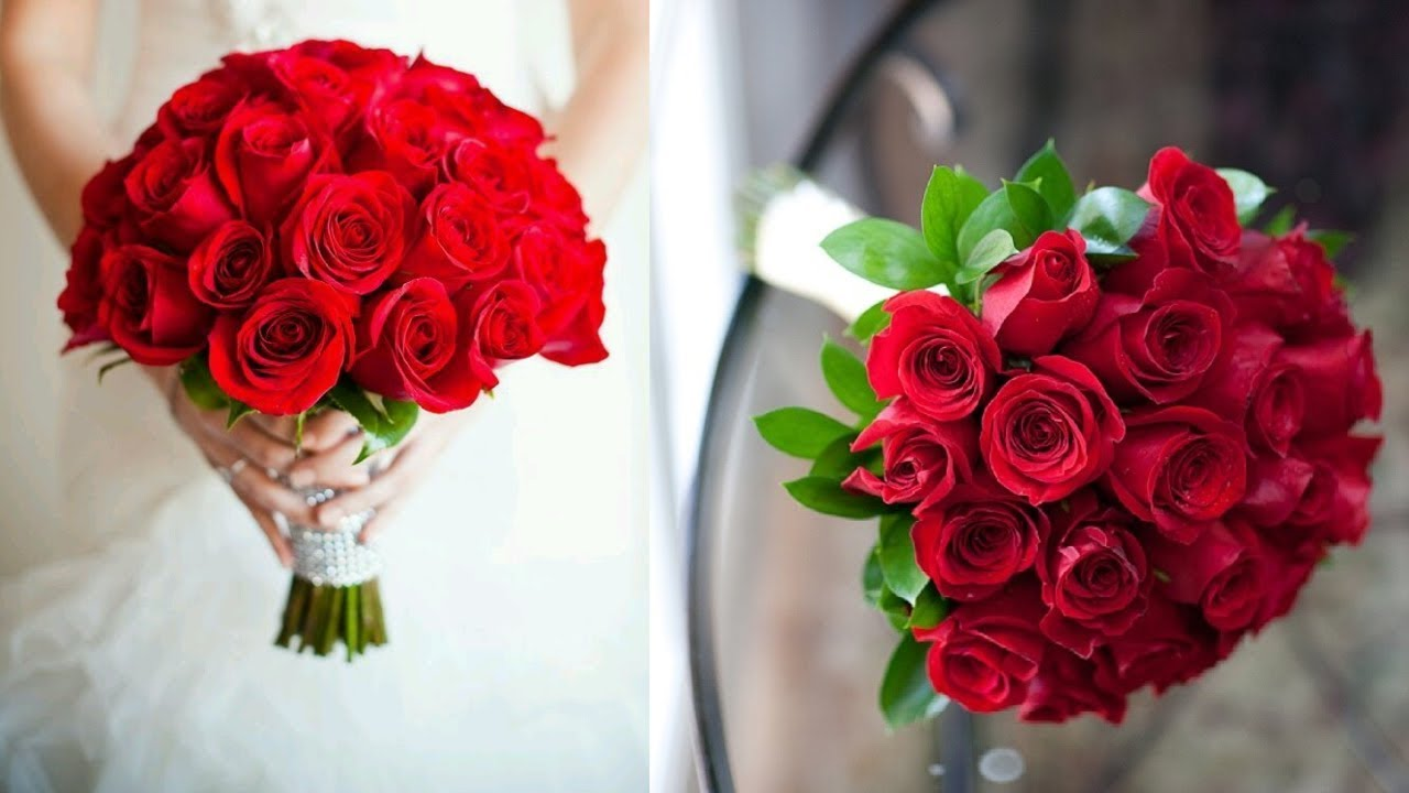 Bridal Bouquet On Budget Diy Red Rose