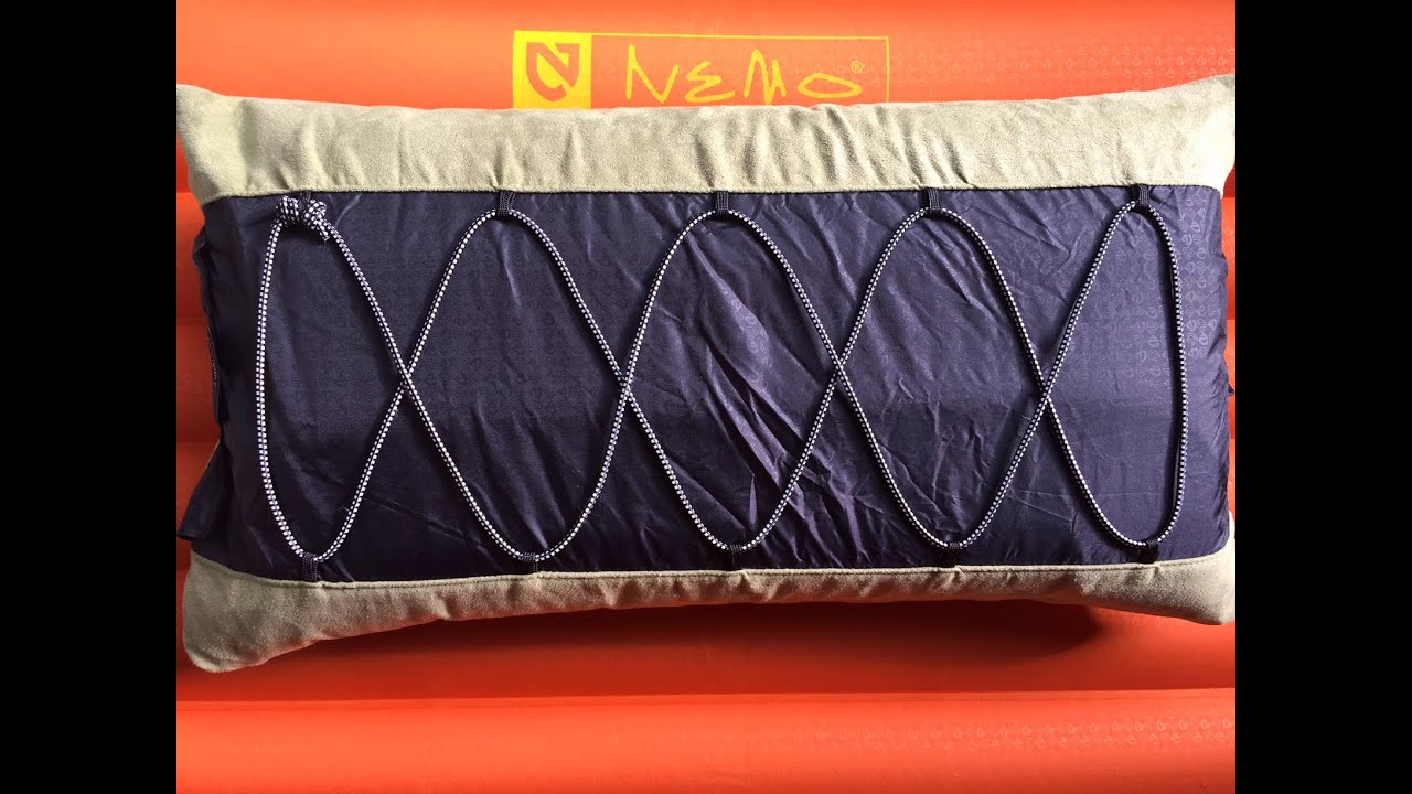 nemo fillo luxury backpacking camping and travel pillow