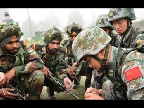 China India Army military exercise