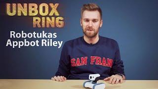 Stebėjimo kamera robotas Railis   Appbot Riley   Unbox Ring apžvalga
