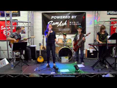 The Rand Band Concert on September 25 2013 in Sam Ash Music Store